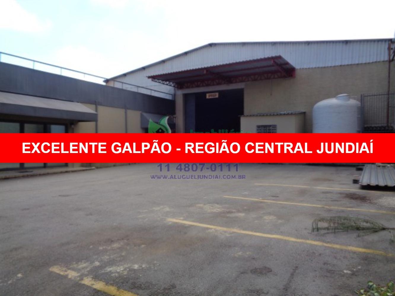 Excelente galpão para locação em Jundiaí, na Avenida 14 de Dezembro, 1761m² de terreno com 1269m² de área construída, 200 m² de área administrativa, c