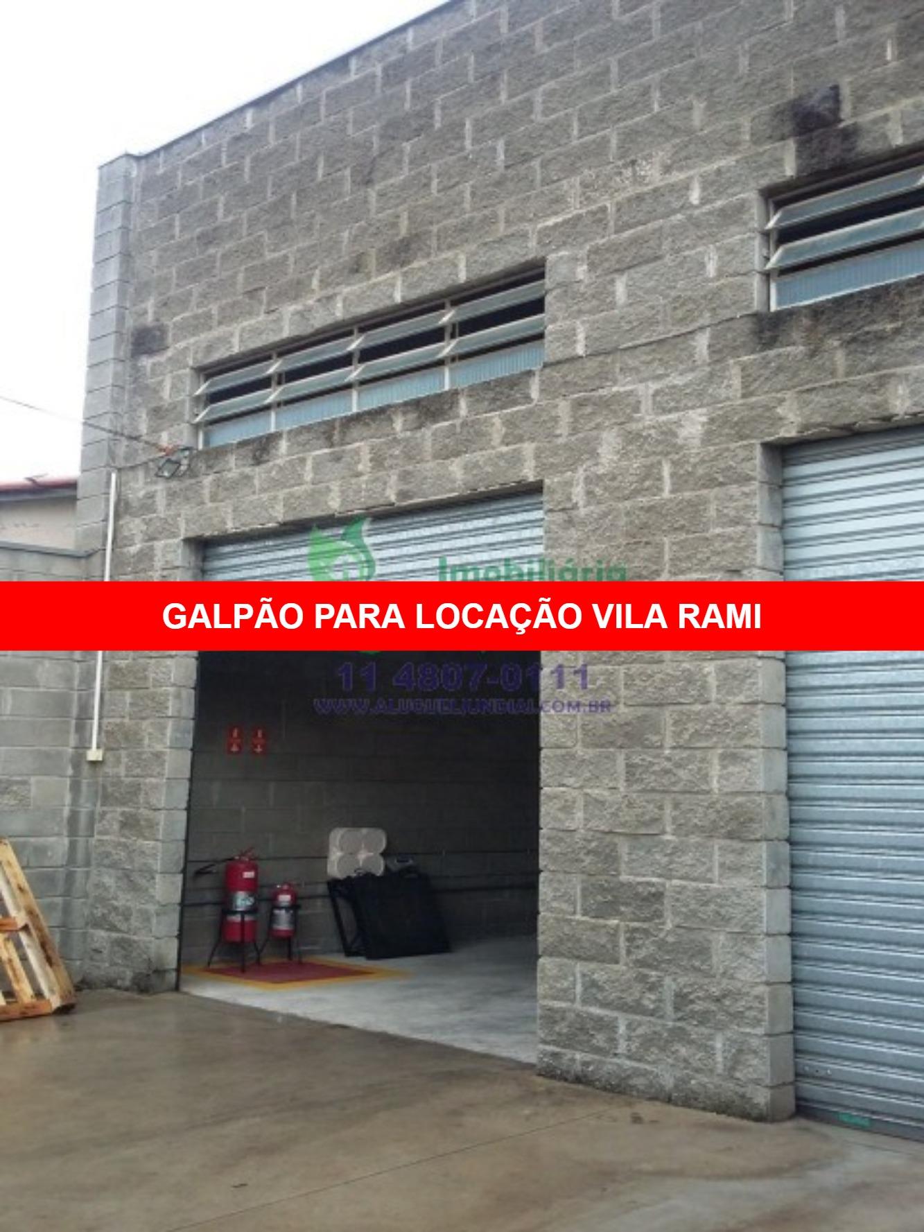 Excelente Galpão para locação em Jundiaí, Bairro Vila Rami, próximo a avenida 14 de Dezembro, 152m² terreno, 110m² área construída, 02 wc, 02 vagas fr