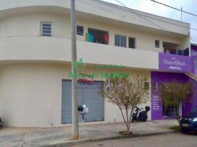 Ótimo salão comercial de esquina no bairro Residencial Jundiaí.