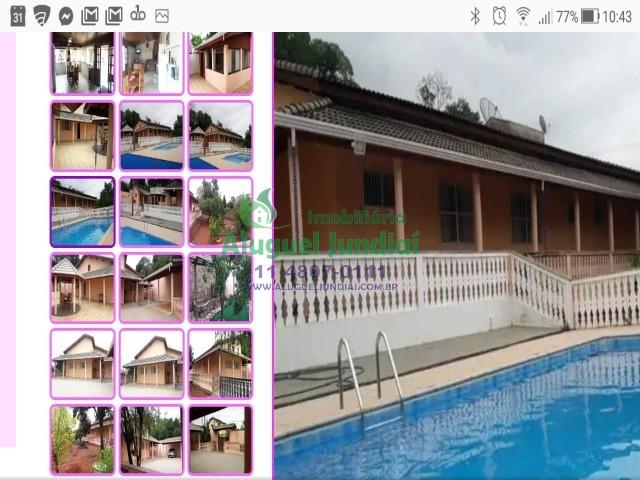 Excelente chácara com área total de 1.500 m² e 555 de área construída.