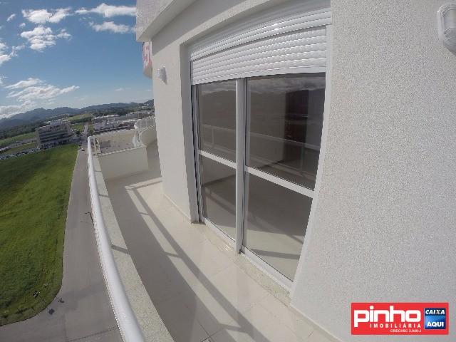 COBERTURA NOVA, 03 dormitórios (sendo 01 suíte), para VENDA, Bairro Cidade Universitária Pedra Branca, Palhoça, SC