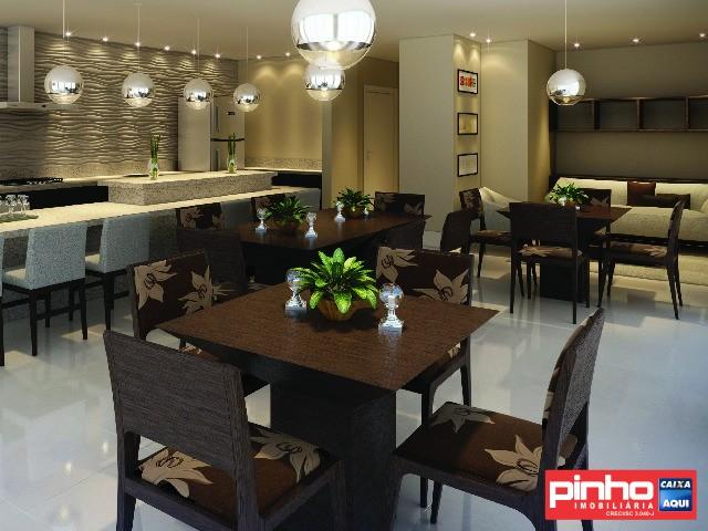 Apartamento com 3 Dormitórios à venda, 63 m² por R$ 375.157,00