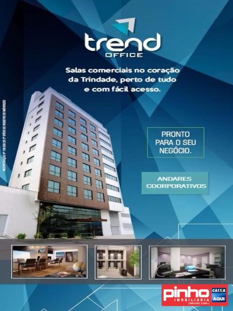 Sala comercial à venda  no Trindade - Florianópolis, SC. Imóveis