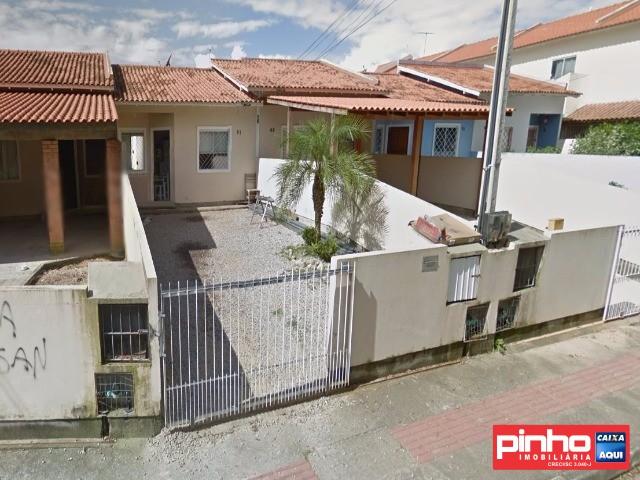 CASA GEMINADA de 02 dormitórios, para VENDA DIRETA CAIXA, Bairro Potecas, São José, SC