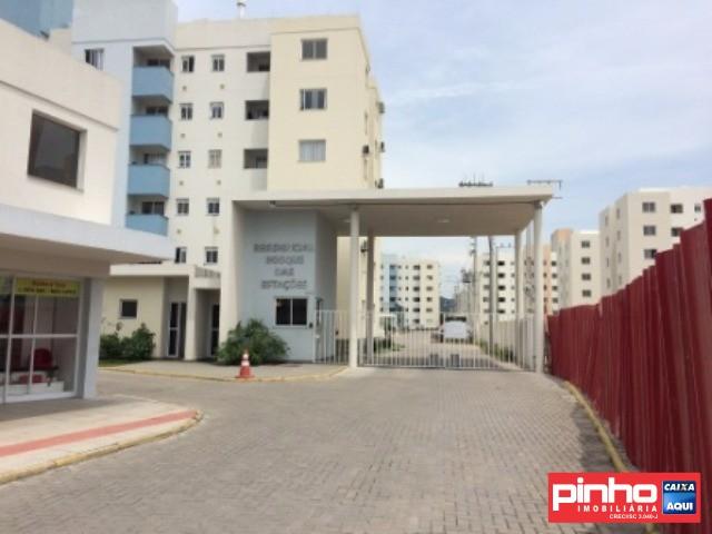 Apartamento 02 Dormitórios, Residencial Bosque das Estações, VENDA DIRETA CAIXA, Bairro Bela Vista, Palhoça, SC.