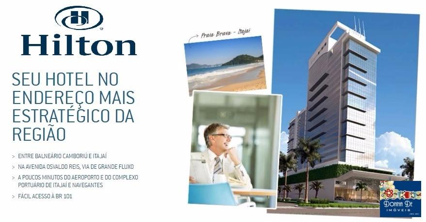 HOTEL HILTON PRAIA BRAVA - SUÍTE DE 27,68 M² - UNIDADE DE INVESTIDOR