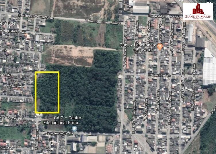 Terreno de 9000 m² em Machados Navegantes