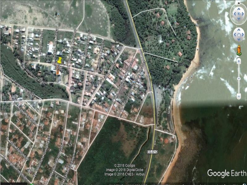 Jacaraipe, bairro Capuba, rua Inácio Trancoso, lote residencial, sol da manhã, 360 m² (12x30), excelente para moradia, vizinhança tranquila.  400 metr