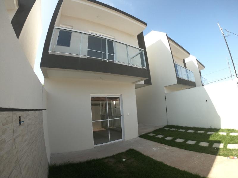 São Francisco , Jacaraipe, casa duplex com 2 quartos 2 suites , 75 m², pertinho da praia,