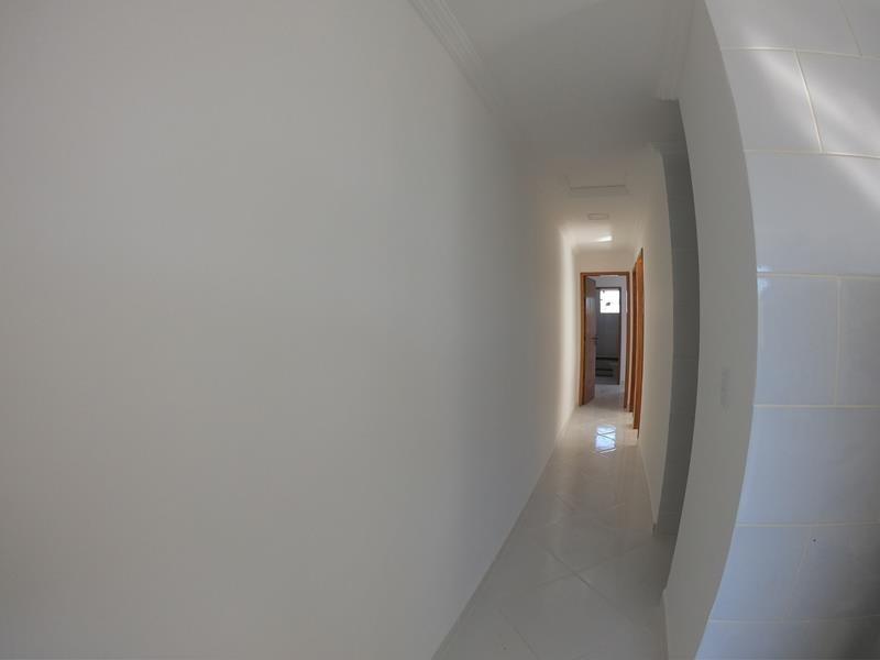 jacaraipe, casa linear 3 quartos com suite, 75 m²