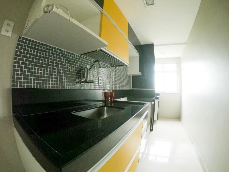 Colina de Laranjeiras, apt 2 quartos com suite