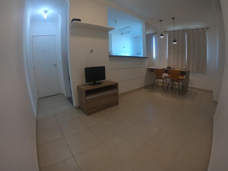 Colina  de Laranjeiras,  condomínio Albatroz, apt 50 m², 2º andar,  2 Quartos , sala, cozinha americana