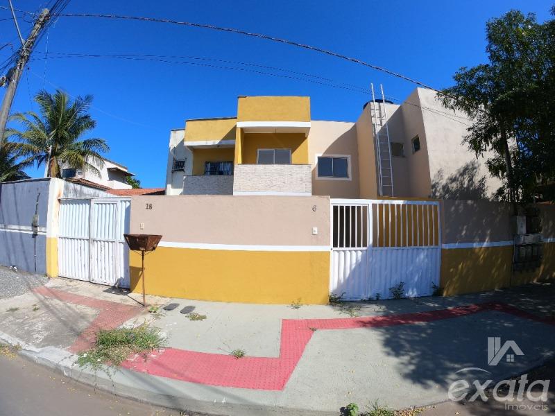 Jacaraipe, Bairro Enseada de Jacaraipe, Casa Duplex, 2 quartos, sala, cozinha, banheiro social, lavabo, área de serviços,