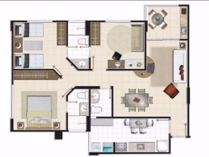 Venda Apartamento no Edifício Jade no Eldorado em Goiânia