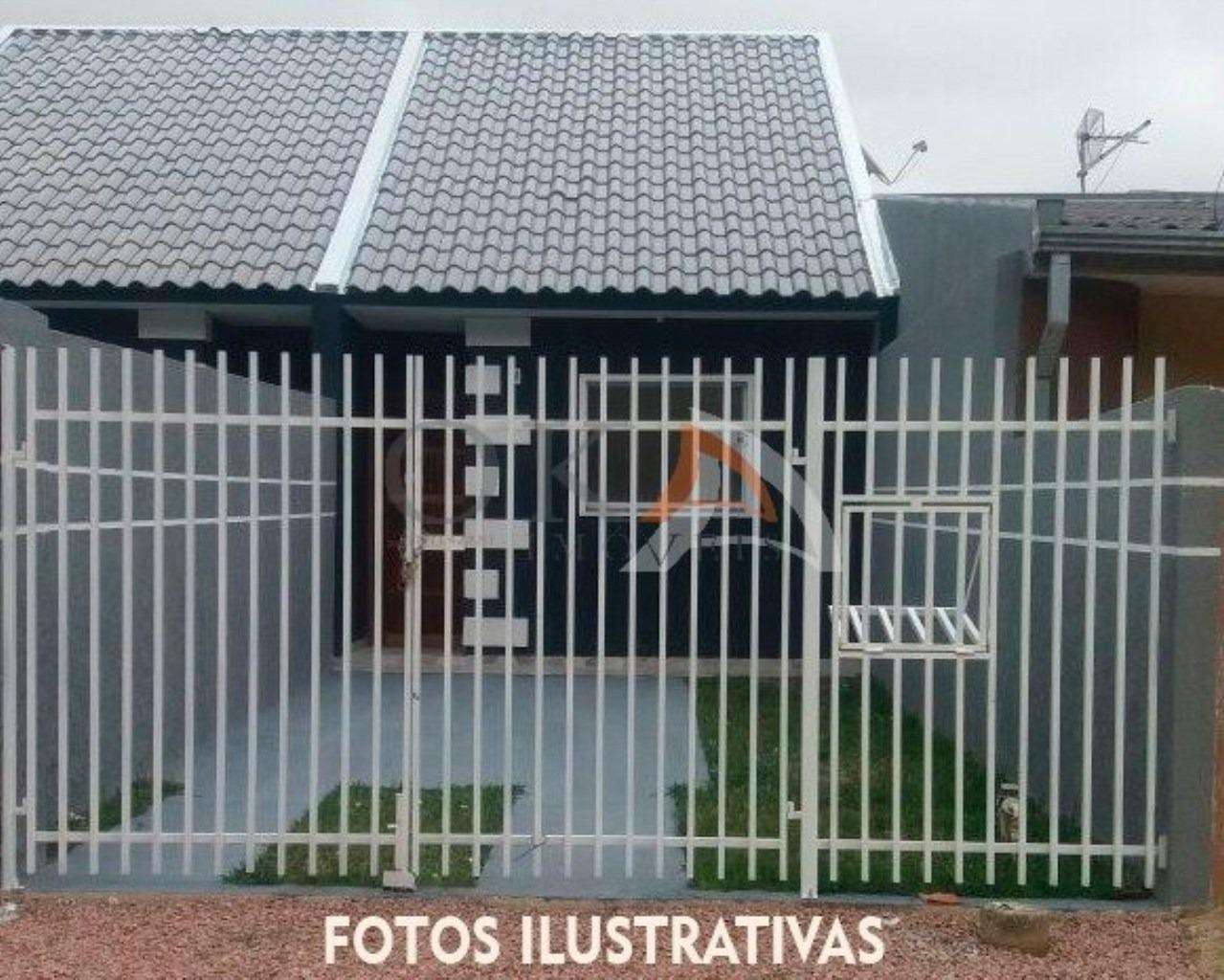 Casa com Preparação para Ático 02 Dormitórios em Curitiba é na Oka Imóveis