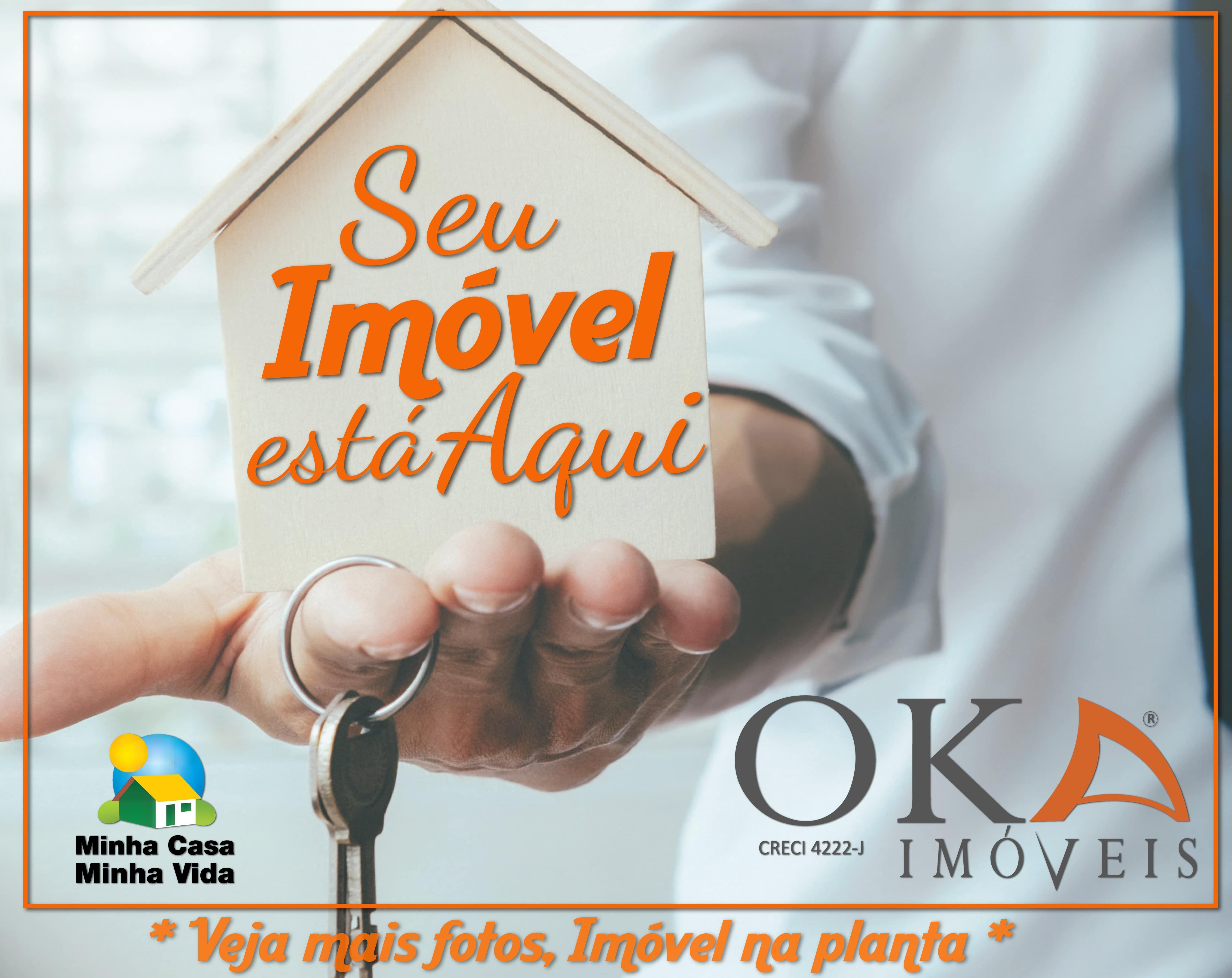Casa 02 Dormitórios Preparação pra ático em Curitiba é na Oka Imóveis