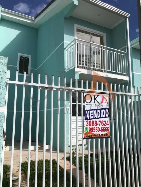 Sobrado 63,13m² 02 dormitórios R$169Mil Campo de Santana é na Oka Imóveis