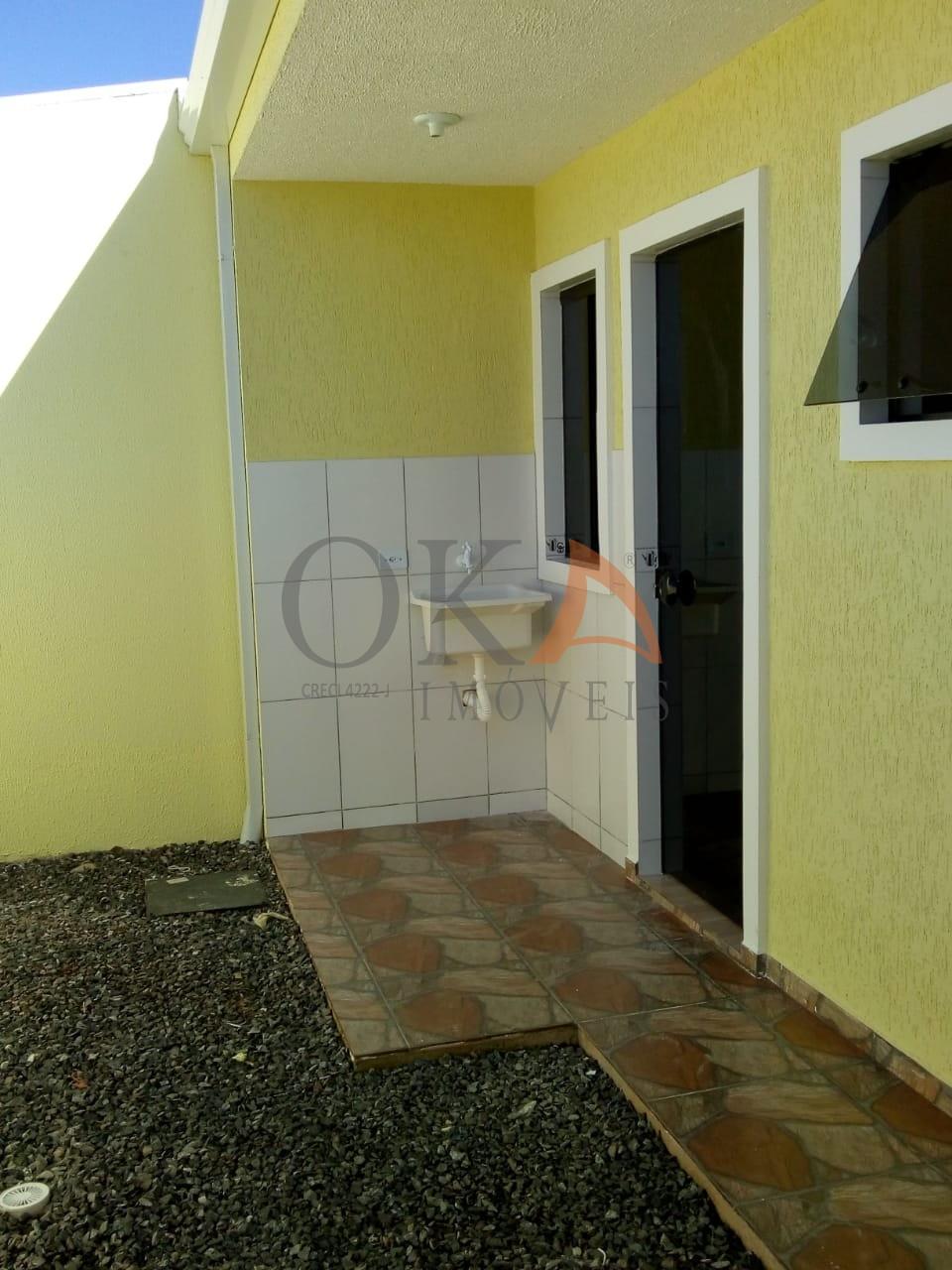 Casa 40,28m² 02 Dormitórios Fazenda Rio Grande é na Oka Imóveis
