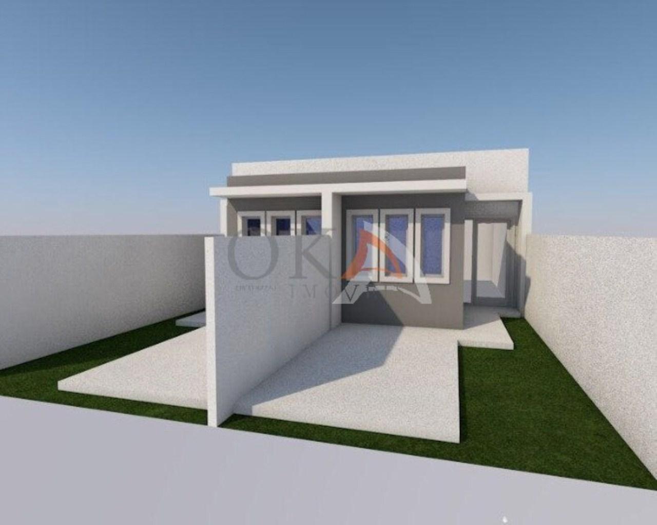 Casa 02 Dormitórios 38m² no Campo de Santana é na Oka Imóveis