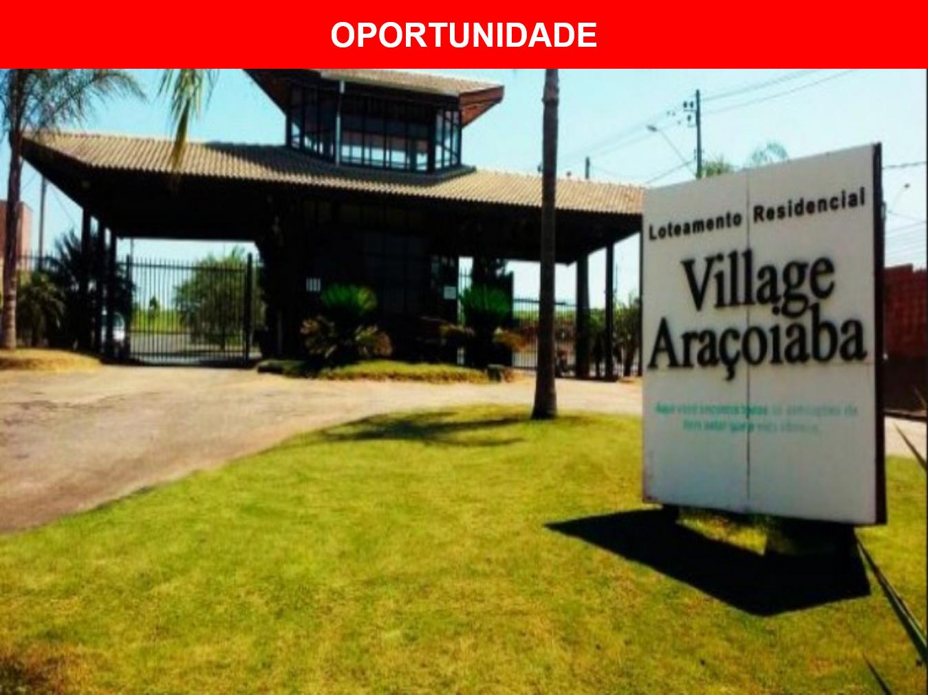 Terreno à venda no condomínio Village Araçoiaba, Araçoiaba da Serra - SP