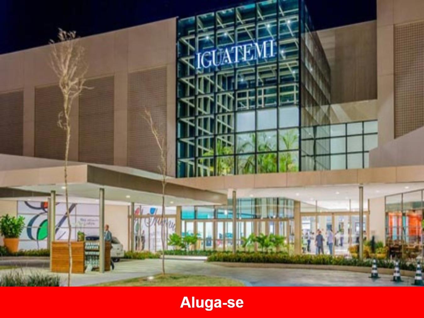 Aluga-se Sala Comercial no Shopping Iguatemi, Sorocaba  - SP