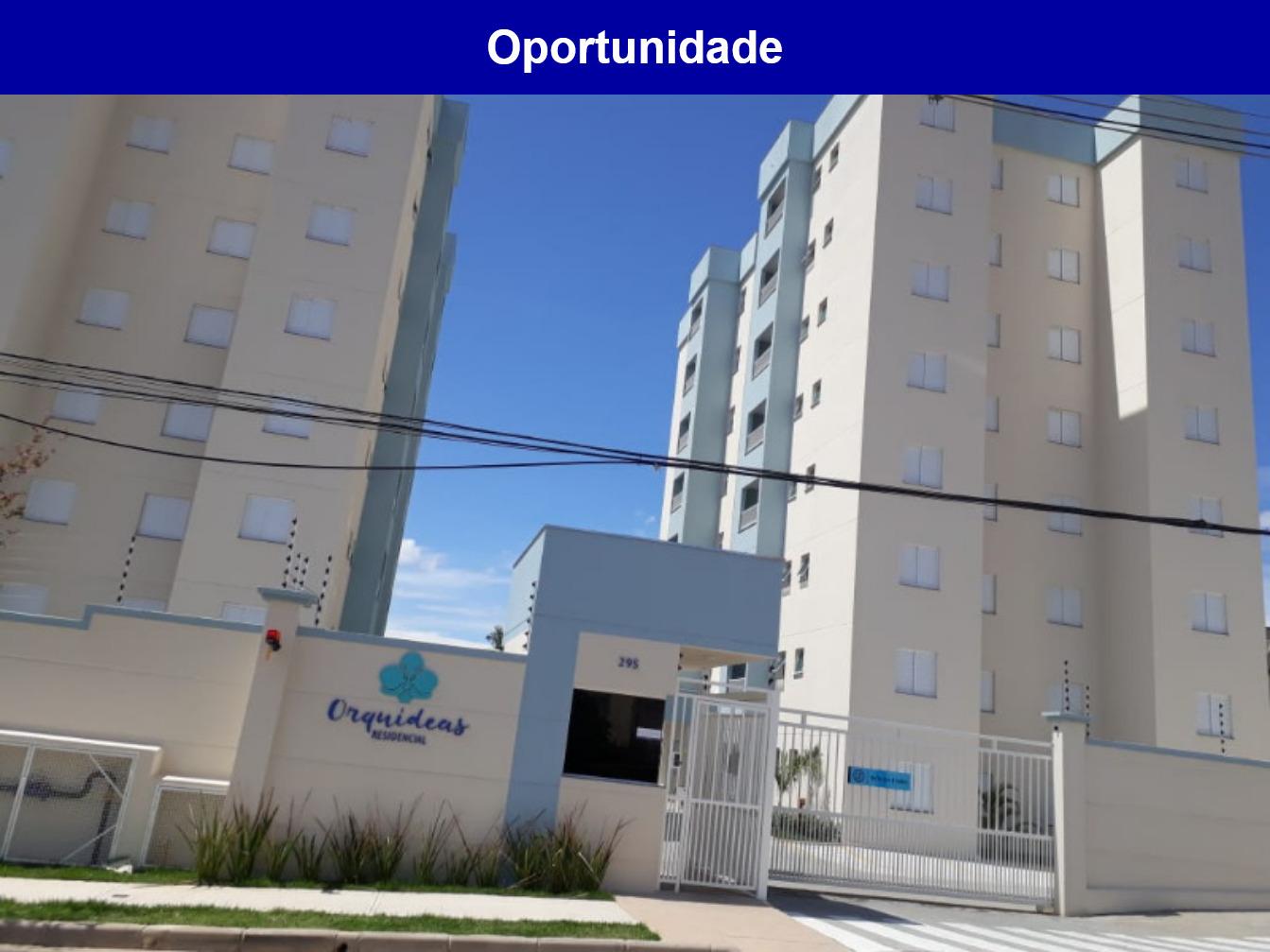 Apartamento a venda no Residencial Orquídeas, JARDIM LEOCÁDIA, Sorocaba -sp