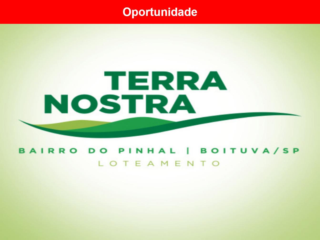 Terreno a venda no Loteamento Terra Nostra, Boituva - SP