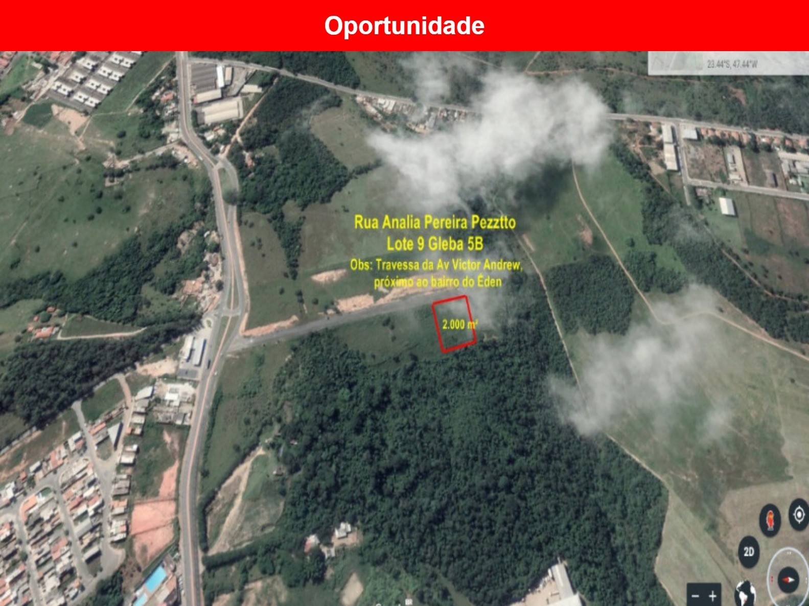 Área a venda no Éden, Sorocaba - sp