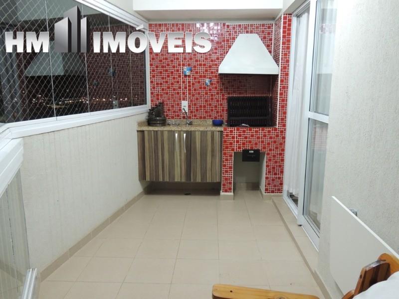 Apartamento de 82 m² com varanda gourmet em guarulhos, Vila Augusta