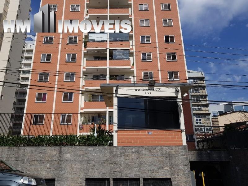 Apartamento para locar com 90 m² de 3 dormitórios no Centro de Guarulhos