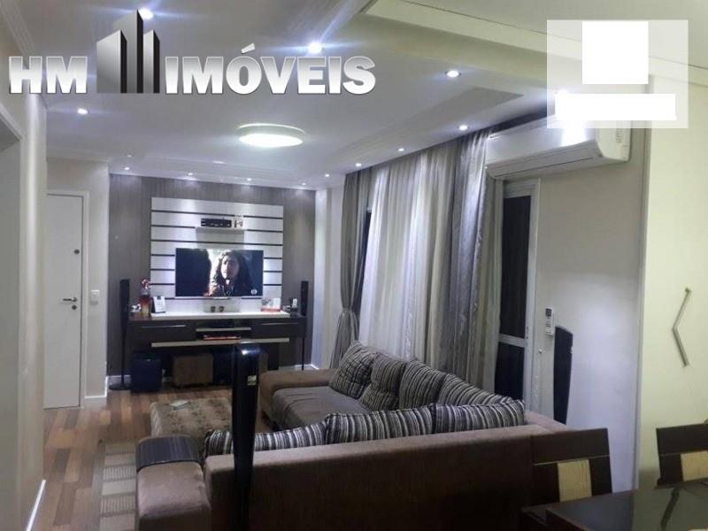 Apartamento todo mobiliado com 2 suítes em Guarulhos