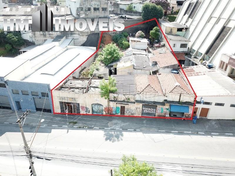 Área para a construção de prédio residencial ou comercial próximo ao centro de Guarulhos