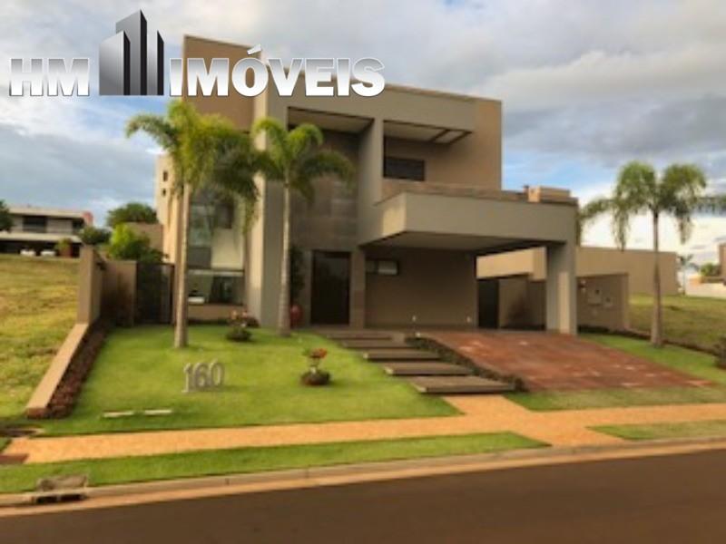 Vende ou permuta linda casa em condomínio fechado em Ribeirão Preto