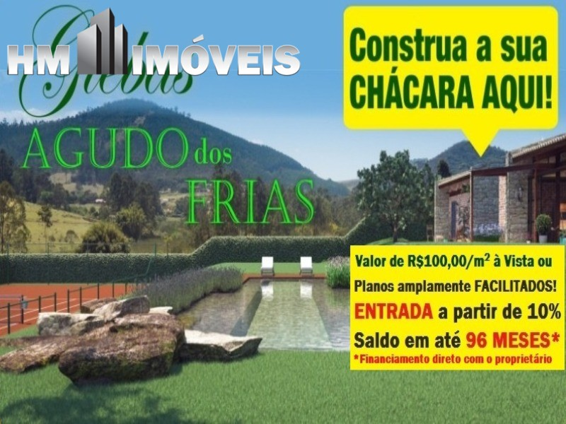 Vendo Chácaras a 15 minutos do centro de Bragança R$100,00  m².