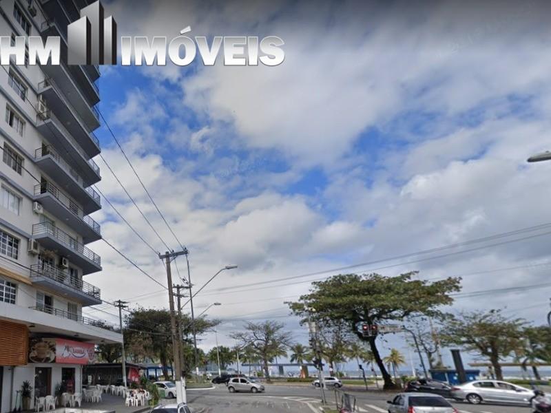 Vende apartamento de 1 dormitório em frente a Praia do Boqueirão - Santos