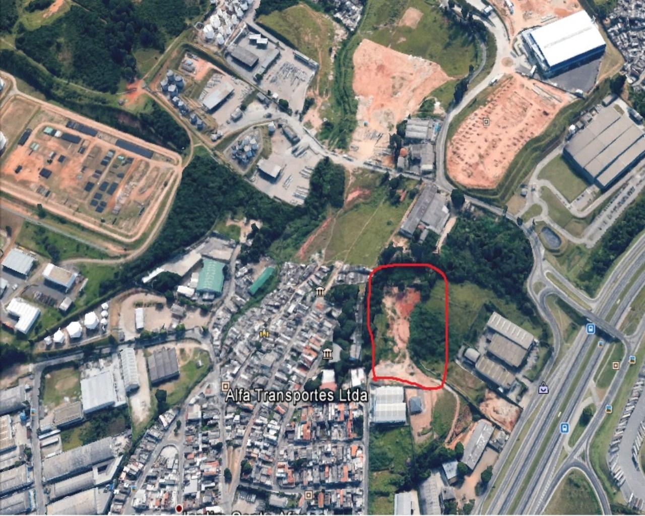 Área em Guarulhos