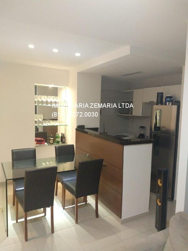 Vendo flat mobiliado Edf. Golden Life Home Service, Boa Viagem