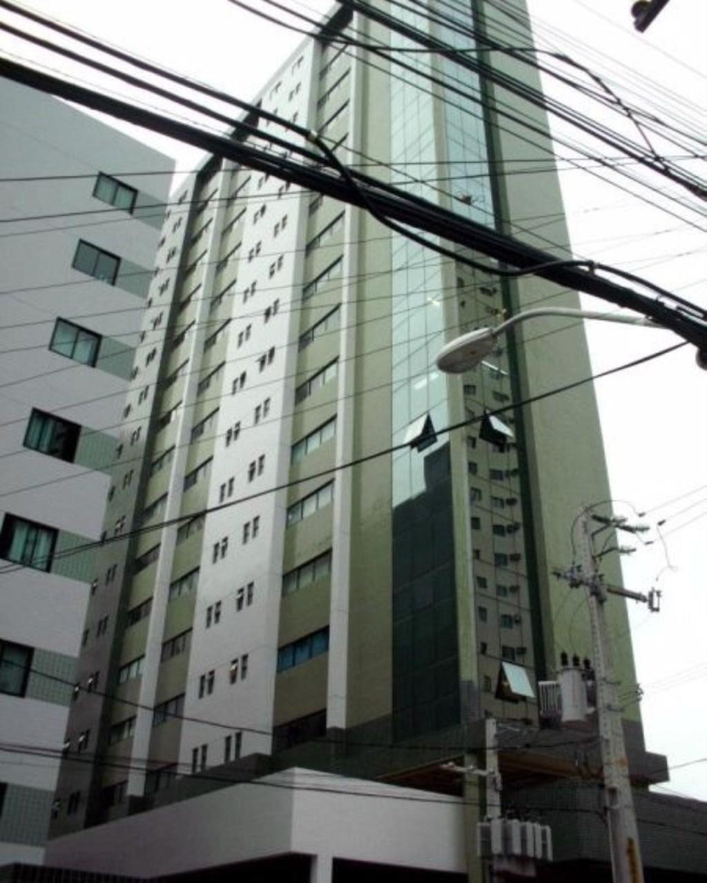 Locação no Empresarial Green Tower na Madalena, sala mobiliada, 32m²