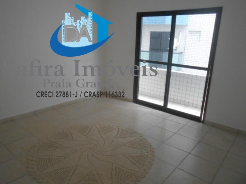 Excelente apartamento de 02 dormitórios sendo 01 suite a venda no Guilhermina em Praia Grande.