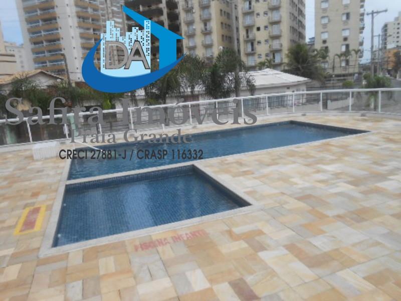 Excelente apartamento de 02 dormitórios a venda na Vila Caiçara em Praia Grande.