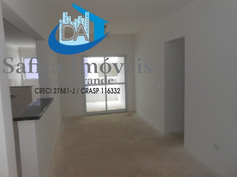 Apartamento Novo a venda de 02 dormitórios com Varanda Gourmet em Praia Grande.