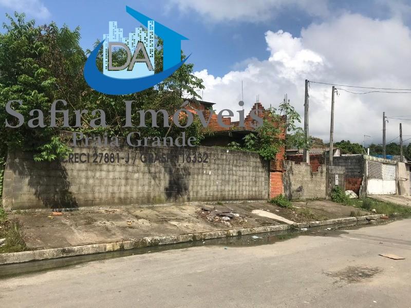 Ótimo terreno a venda com 300 metros de área total em Praia Grande.