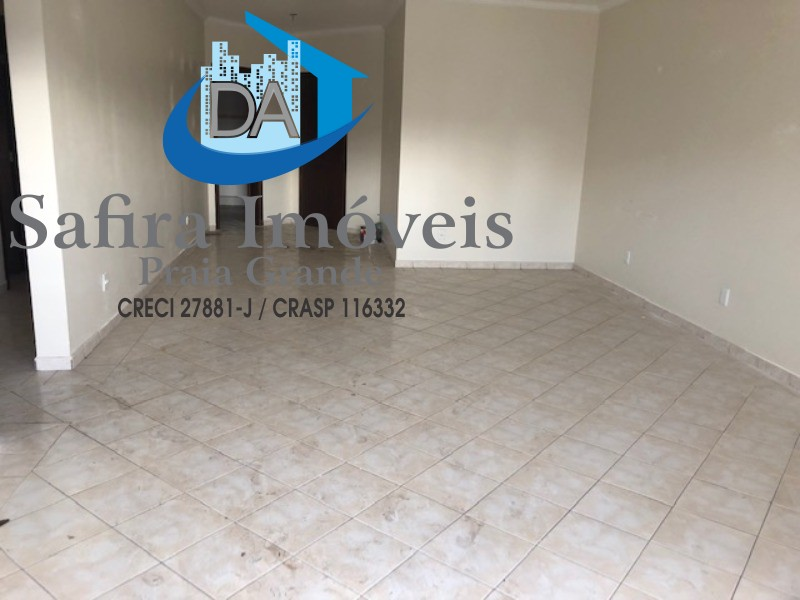 Apartamento 03 dormitorios com 01 vaga de garagem para locação no Canto do Forte- Praia Grande SP