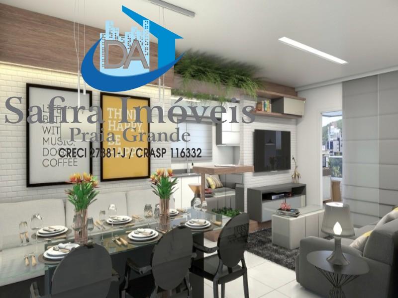 IMPERDÍVEL!!!!! LOUCURA, LOUCURA, LOUCURA!!!!! Excelente imóvel em construção em Praia Grande, com entrega para DEZEMBRO/2.020, de 02 dormitórios.