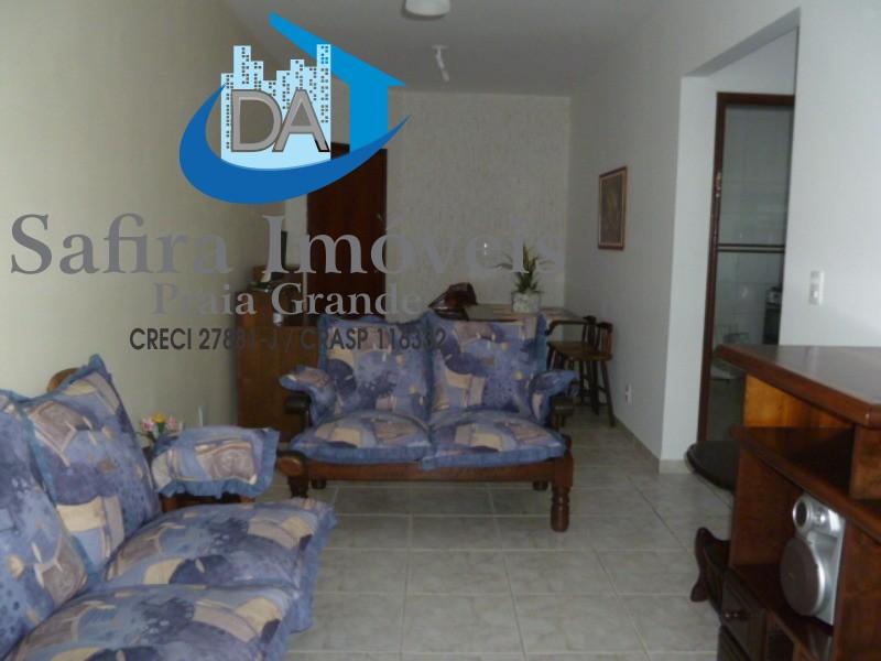 EXCELENTE OPORTUNIDADE!!!!!! Ótimo apartamento  com 62 metros de área útil construída, no Canto do Forte, andar alto, de 01 dormitório, sala com saca