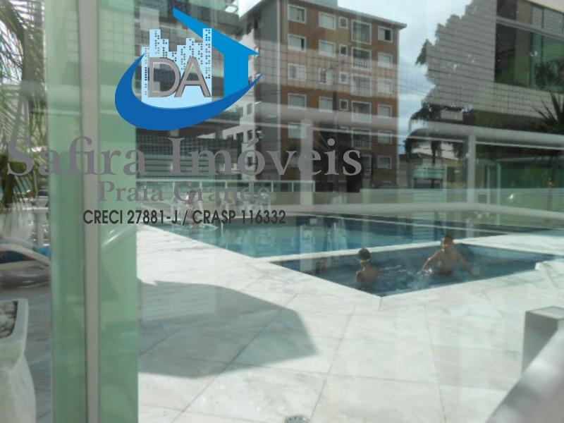 Apartamento de 02  dormitórios com suite, sala 02 ambiente com lazer completo no Forte.