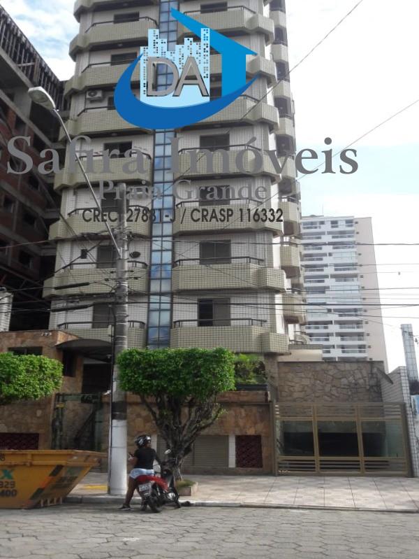 Apartamento no Canto do Forte com elevador e portaria - Praia Grande SP