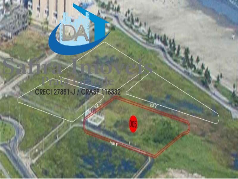 Área para comercialização na Vila Mirim, poucos metros da praia , próximo ao futuro Shopping, Praia Grande SP