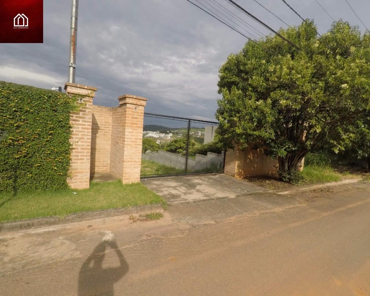 Terreno, 1.100 m² TOPOGRAFIA EXCELENTE, murado com portão, Santa Helena, Bragança Paulista