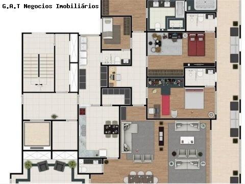Apartamento com 4 Quartos,edifÍcio luxor, Sorocaba